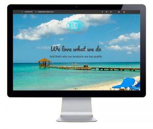Pantallazo Diseño de Pagina web Malukos Designs