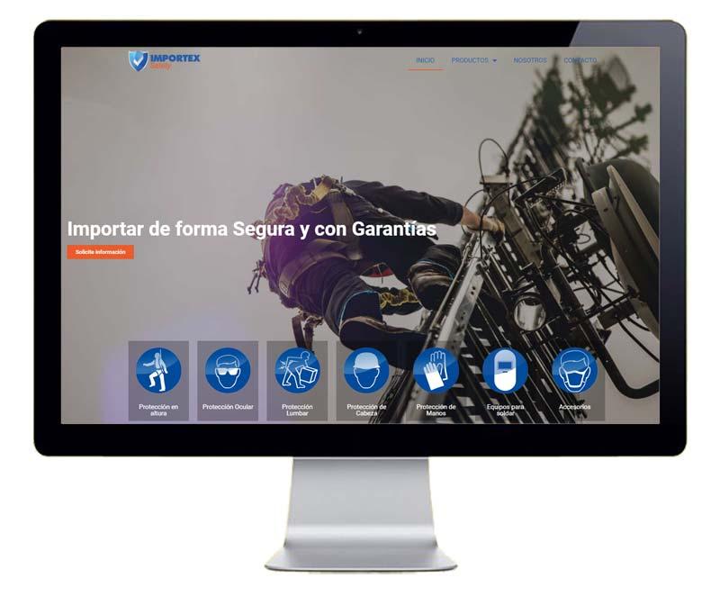Diseño web empresa importadora
