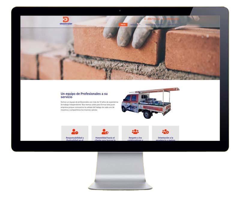 Diseño web empresa de servicios