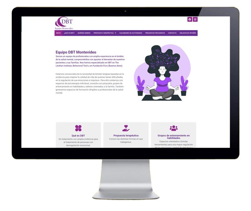 Diseño web para equipo de psicólogos