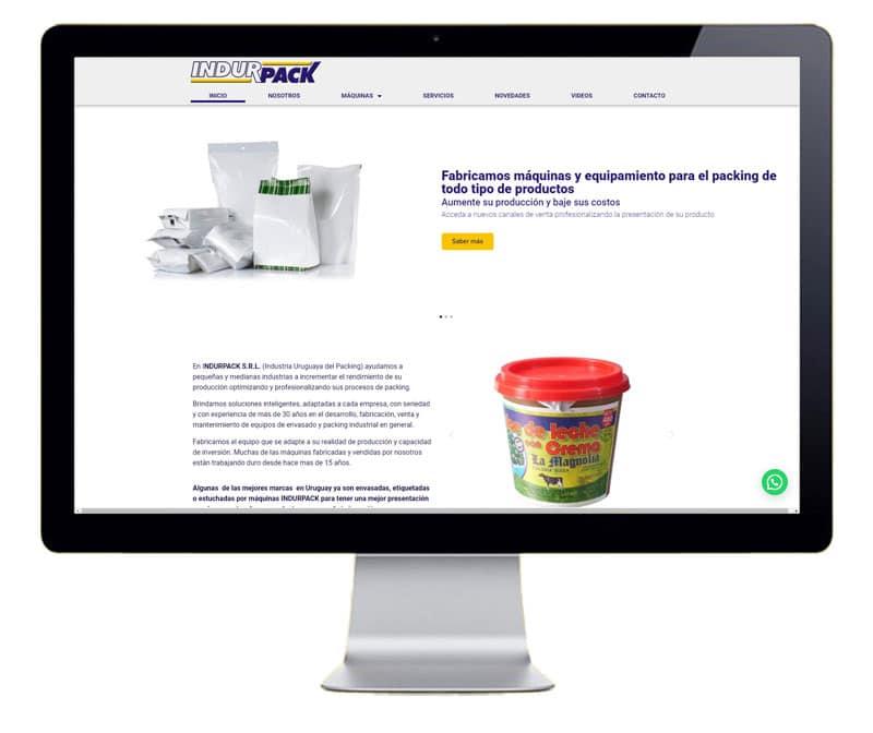 Diseño web Industria de envases